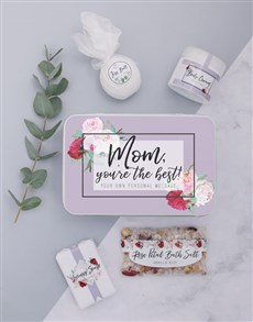 gifts: Personalised Mom Bath Spoils Keepsake Box!