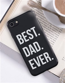 gifts: Personalised Best Ever Black iPhone Cover!