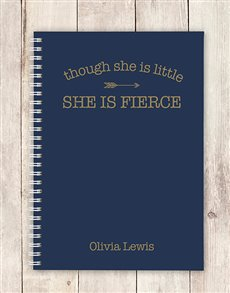 gifts: Personalised Fierce Notebook!
