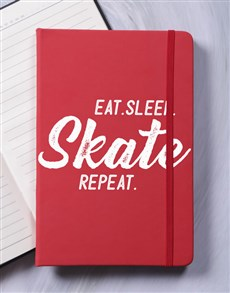 gifts: Personalised Repeat A5 Notebook!