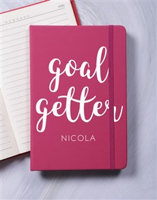 gifts: Personalised Goal Getter A5 Notebook!
