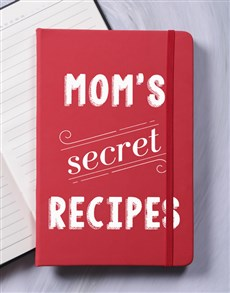 gifts: Personalised Secret Recipes A5 Hardcover Notebook!