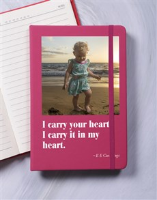 gifts: Personalised My Heart A5 Notebook!