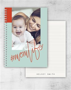 gifts: Personalised Momlife Notebook!