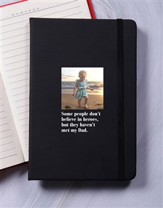 gifts: Personalised Hero A5 Notebook!