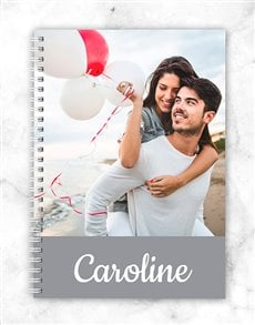 gifts: Personalised Photo Notebook!
