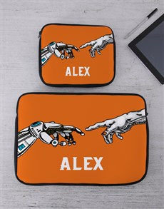 gifts: Personalised Hands Tablet or Laptop Sleeve!