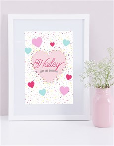 gifts: Personalised Sweetest Framed Print!