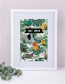gifts: Personalised Framed Wild One Print!
