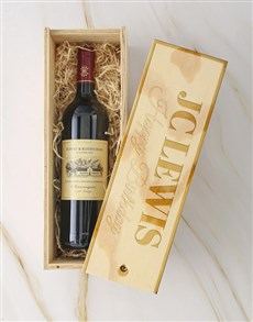 gifts: Personalised Rothschild Crate!