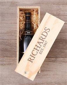 gifts: Personalised KWV Brandy Crate!