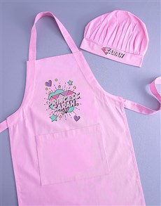 gifts: Personalised Princess Kids Apron!
