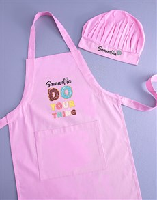 gifts: Personalised Sweet Kids Apron!