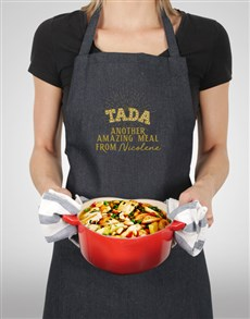 gifts: Personalised Ta Da Apron!