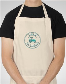 gifts: Personalised Boerseun Apron!