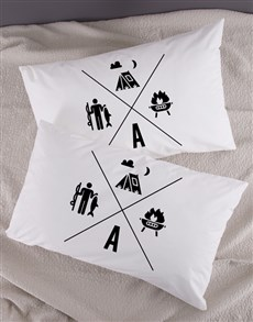 gifts: Personalised Activities Pillow Case Set!