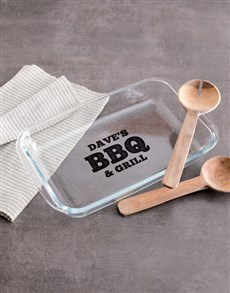 gifts: Personalised BBQ & Grill Cooking Dish!