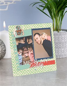 gifts: Personalised Daddy Glass Tile !