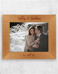 gifts: Personalised We Still Do A3 Photo Frame!