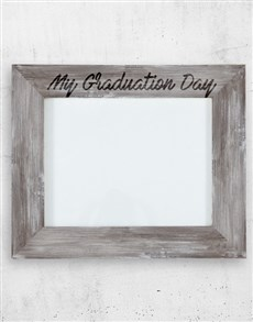 gifts: Personalised Graduation A3 Photo Frame!