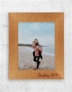 gifts: Personalised Date A3 Photo Frame!