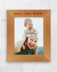 gifts: Personalised Best Day A3 Photo Frame!