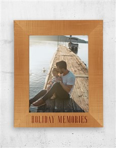 gifts: Personalised Holiday A3 Photo Frame!
