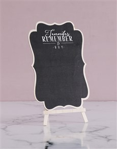 gifts: Personalised Remember To Buy Chalk Board!