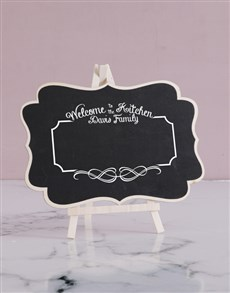 gifts: Personalised Eat It Chalk Board!