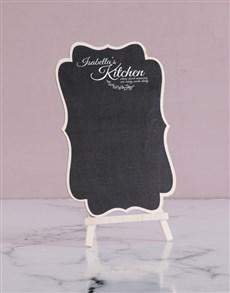 gifts: Personalised Sweet Memories Chalk Board!
