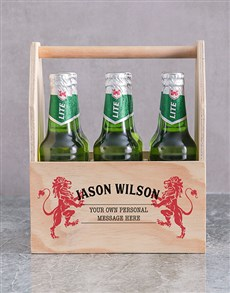 gifts: Personalised Lionheart Man Crate!