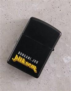 gifts: Personalised Bliksem Lighter!
