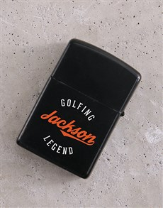 gifts: Personalised Legend Lighter!