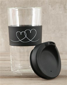 gifts: Personalised Heart Travel Mug!