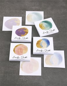gifts: Personalised Dainty Paint Note Gift Set!