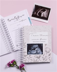 gifts: Personalised Then There Were Pregnancy Journal!