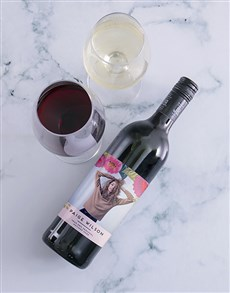 gifts: Personalised Botanic Photo Wine!
