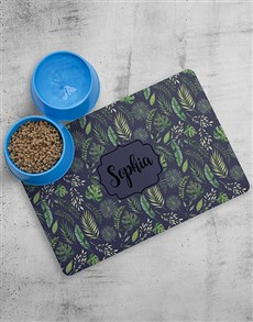 gifts: Personalised Jungle Placemat and Bowls!