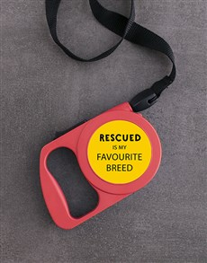 gifts: Personalised Photo Rescue Retractable Dog Leash!