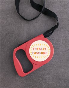 gifts: Personalised Pawsome Retractable Dog Leash!
