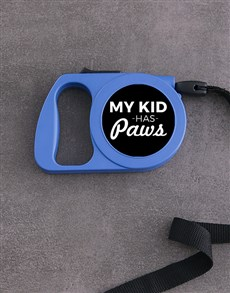 gifts: Personalised Paw Kid Retractable Dog Leash!