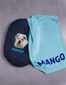 gifts: Personalised Comfy And Cosy Dog Bed and Blanket!