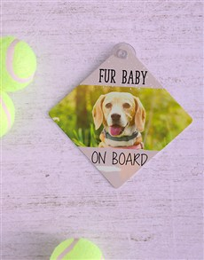 gifts: Personalised Fur Baby Car Sign!