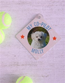 gifts: Personalised Copilot Car Sign!