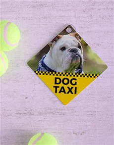 gifts: Personalised Taxi Car Sign!