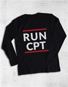 gifts: Personalised Run Long Sleeve T Shirt!
