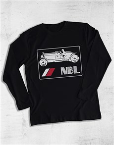 gifts: Personalised Jeep Long Sleeve T Shirt!