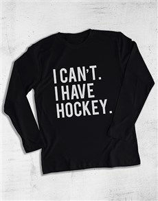 gifts: Personalised I Cant I Have Long Sleeve T Shirt!