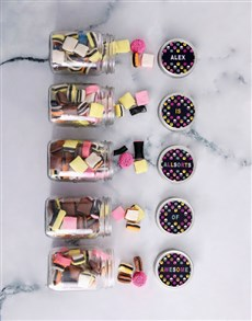gifts: Personalised Mini Liquorice Jars!