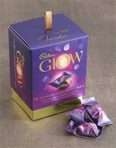 gifts: Personalised Cadbury Glow Box Get Well!